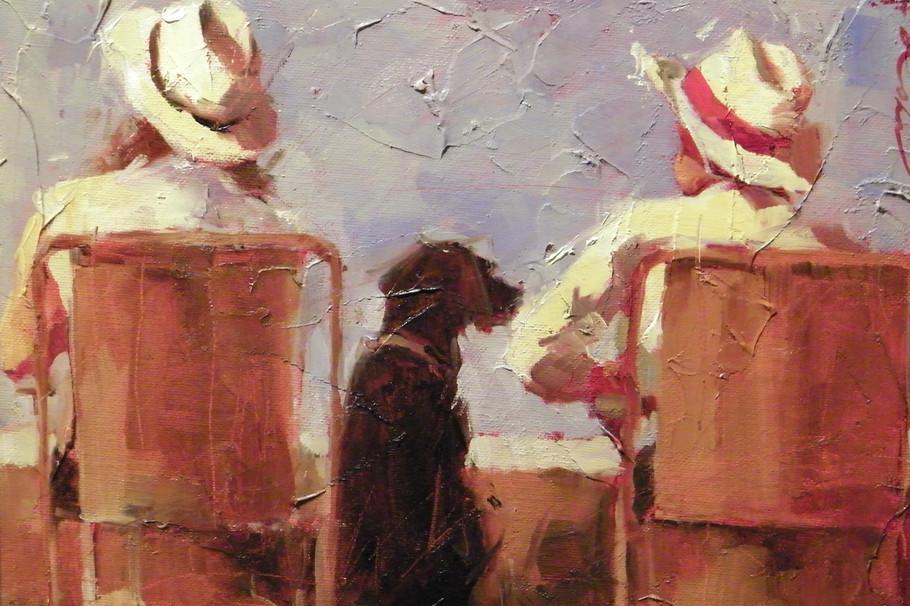 美国画家—安德烈科恩Andre Kohn