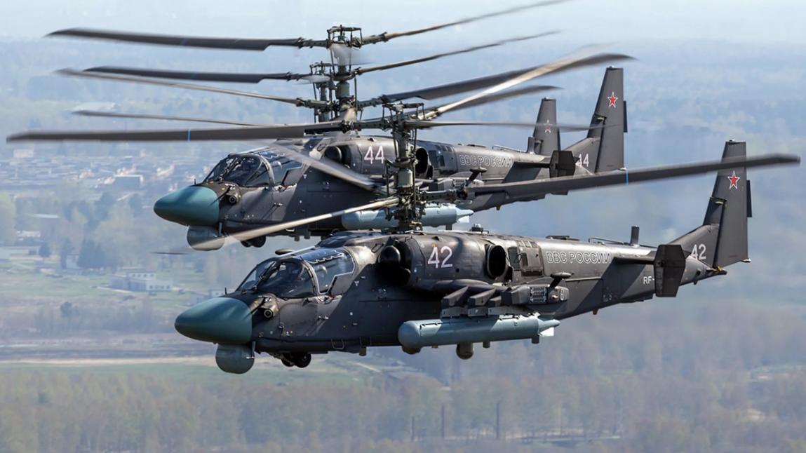 超级短吻鳄来了,俄罗斯卡-52武直更新换代,陆海通吃!