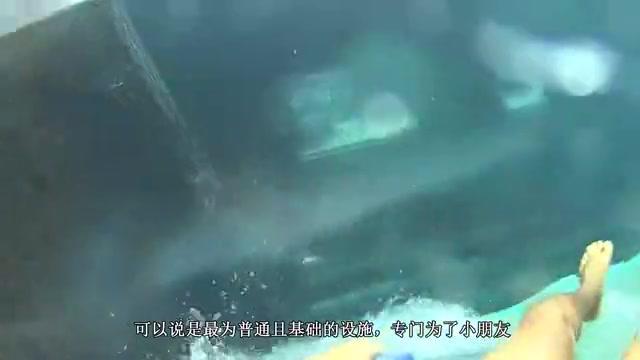 制作世界上最凉的水滑梯!3000磅干冰扔进水里,谁敢进去试试?