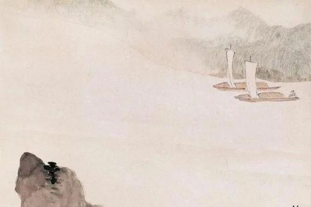 诗书画样样精通,民国大才子郑午昌,驰骋中国画坛的山水画大师!