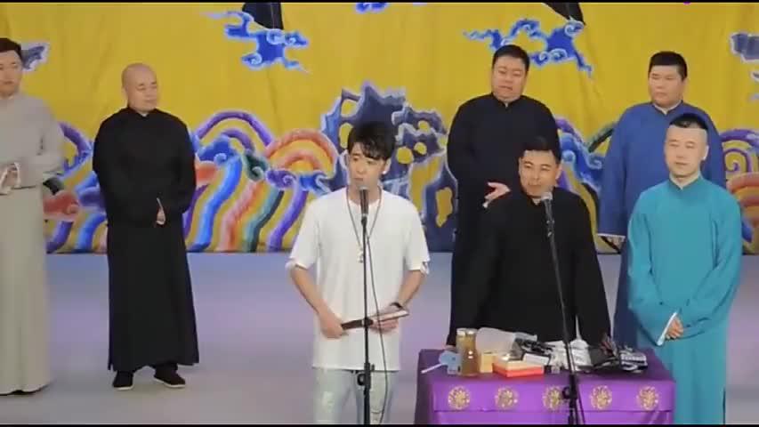 张云雷说相声!辫哥台上唱《大西厢》,好听至极,观众掌声不断!