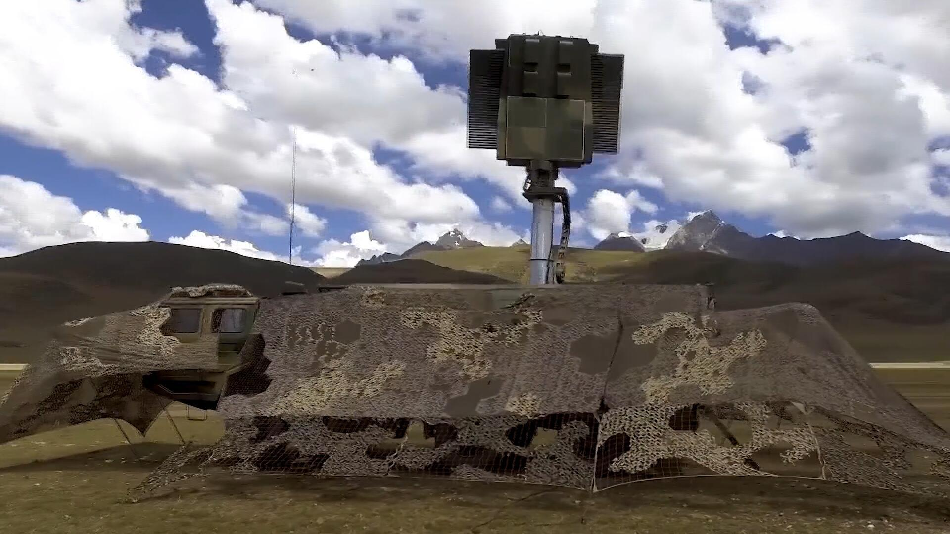 海拔4500米的高原腹地,西藏军区检验部队综合防空作战能力!