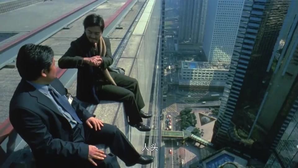 暗战:郑伊健演反派,坐天台上跟谈判专家玩猜硬币,糟了