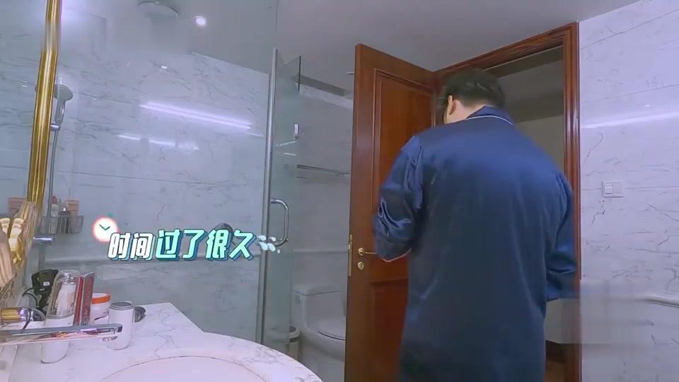 李湘买的电动牙刷,王岳伦直接当普通牙刷用,画面超搞笑!