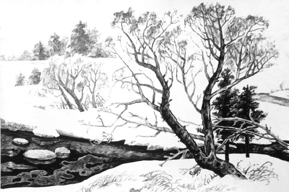 心向故园 情系自然——走近纸本墨刻画创始人于占春