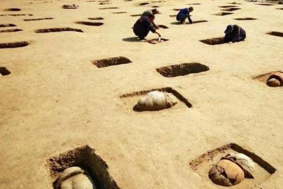 河北发现一瓮棺群,葬有100多童男童女:徐福在河北东渡日本?