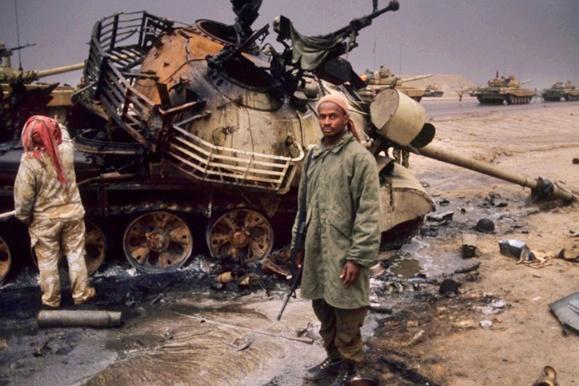海湾战争时,萨达姆敢于挑战多国部队,无外乎这三种原因