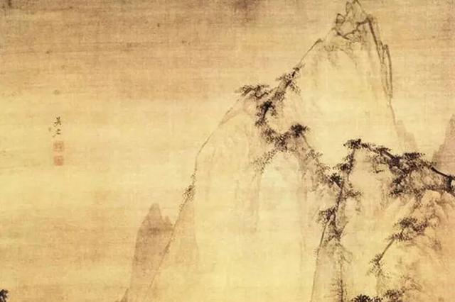 熟练笔触让画境出彩,构图则影响山水画气势,浅析画中三大构图
