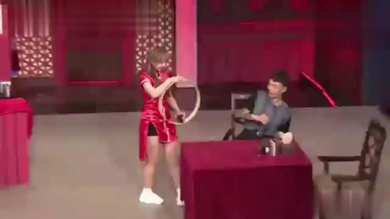 程潇在韩国综艺表演特技,网友:怪不得是《偶像练习生》的导师