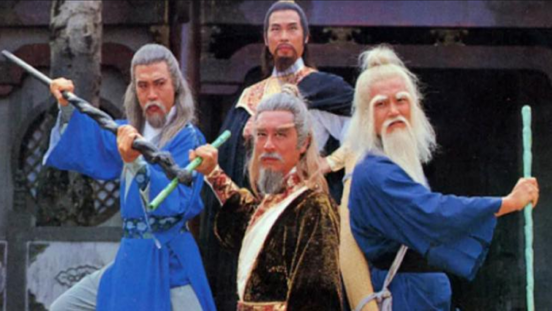 83版《神雕英雄传》三部曲,黄霑作词顾嘉辉作曲,堪称巅峰之作