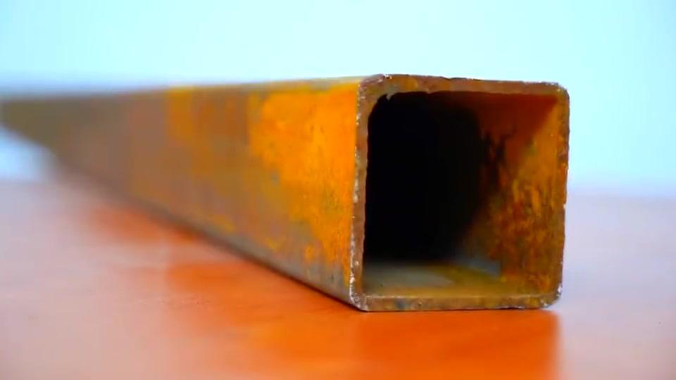 牛人发明:方管下脚料做个实用工具,家人都抢着用