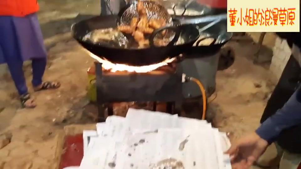 巴基斯坦的美味街边小吃,不干不净吃了没病!