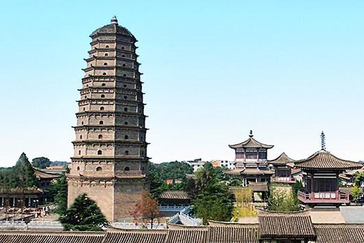 耗资50亿重建的陕西古寺 供奉罕见佛教圣物 被誉世界第九大奇迹!