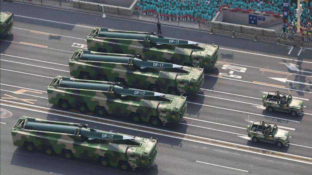 中美俄高超音速比拼,为何中国能独占鳌头?东风17:我们有代差