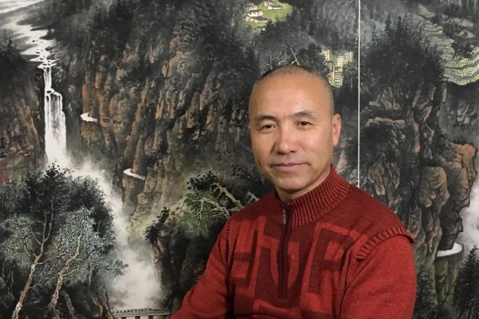 画家杨金书的艺术世界:高贵的单纯 墨色的壮美