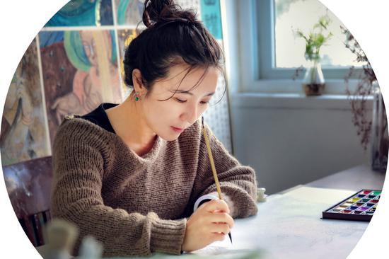 中国美术家协会会员、画家张燕敏作品欣赏