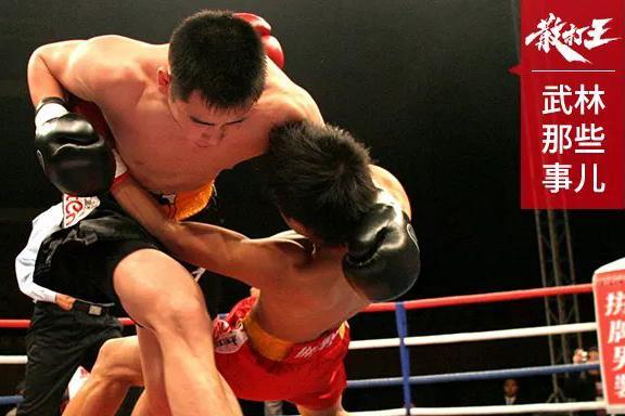 回顾 安徽散打王大破金钟罩,双拳如飞轮,干翻对手!