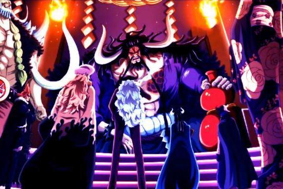 海贼王:身为皇副却完全不惧四皇,奎因敢正面刚大妈底气是什么?