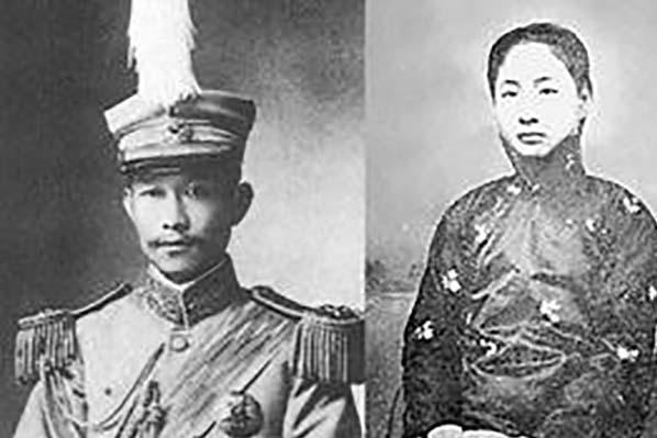 """""""护国军神""""蔡锷34岁因病逝世,留下6个子女,如今现状如何?"""