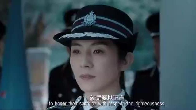 寒战2:香港警局为寒战殉职人员举行最高葬礼,全部高层必须出席