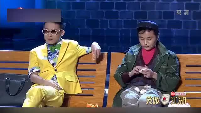 笑傲江湖:这小品太精彩!小伙吃大蒜啃甘蔗,评委都笑了