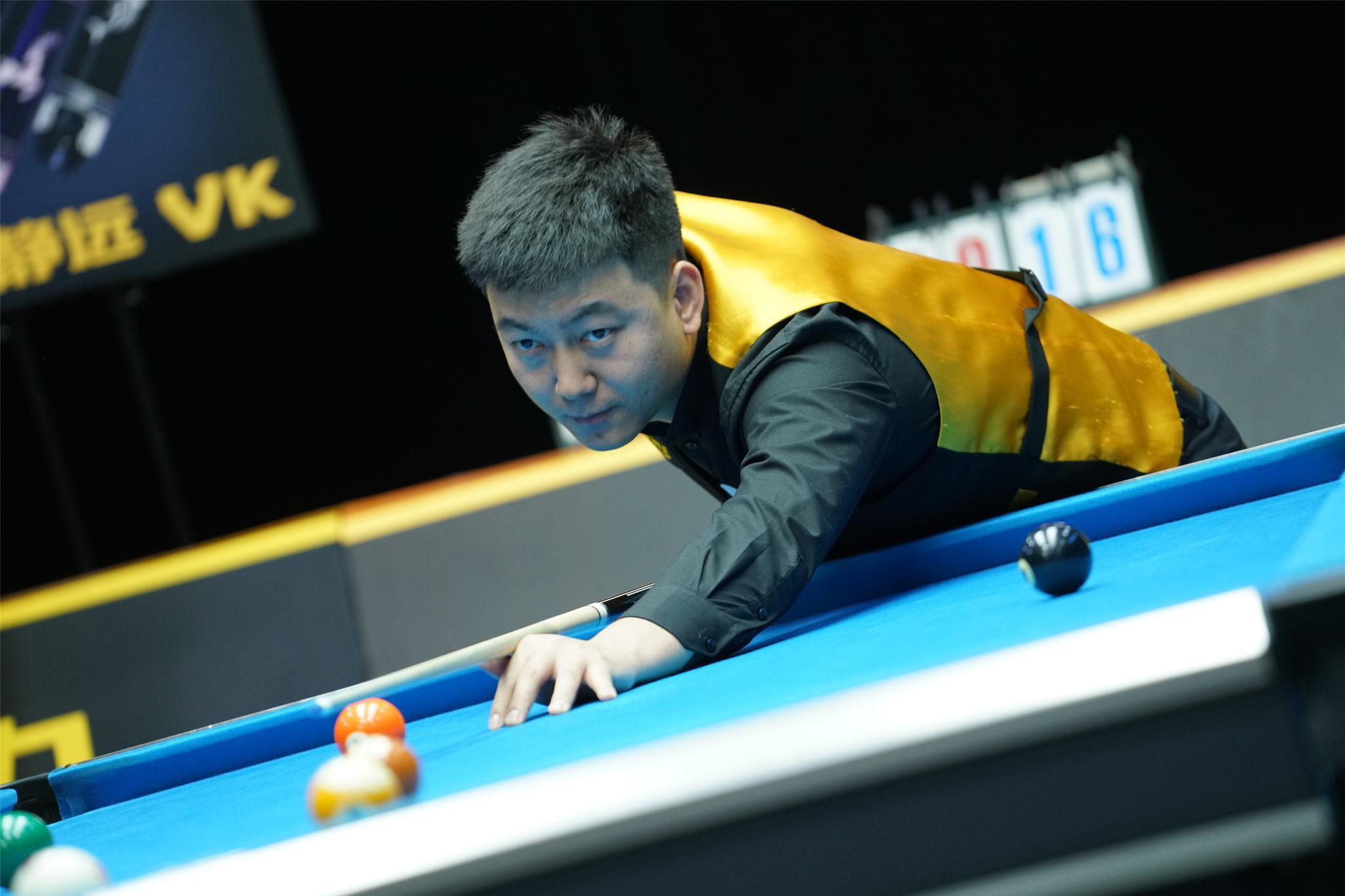 【LCBA中式九球擂台赛】秦超VS马红军争夺最后一位四强名额