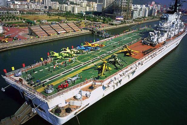"""印度海军现役唯一一艘航母""""维克拉玛蒂亚""""号的前世今生"""