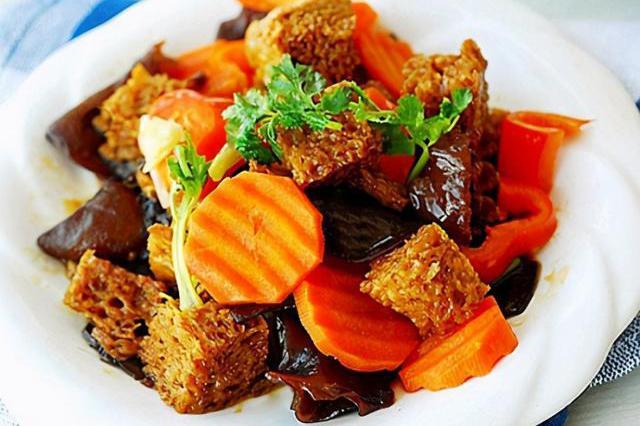素食蒲烧鳗+双喜烤麸