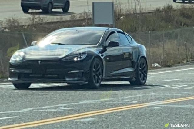 威猛大气 新款Model S谍照曝光