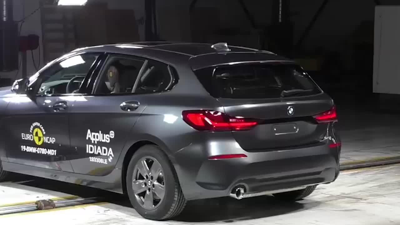 2020款宝马1系,最安全的掀背车,碰撞测试成绩优秀
