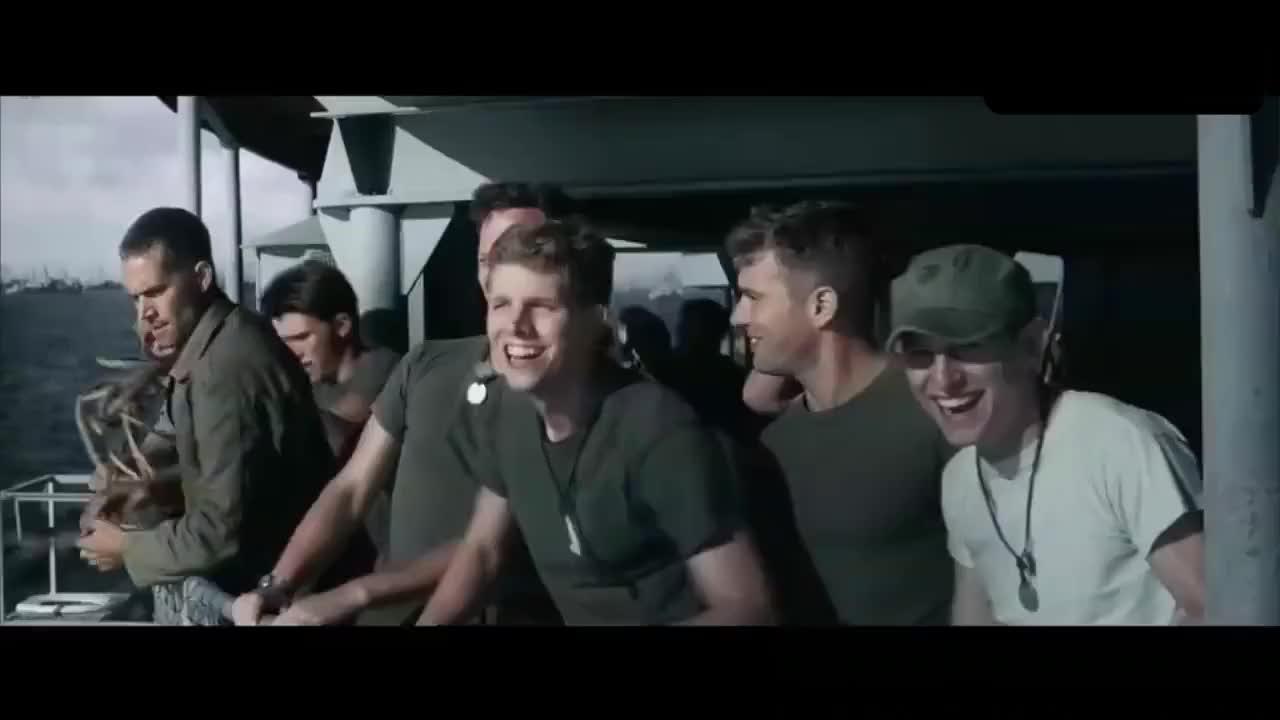 大气磅礴的史诗级太平洋战争大片,抢滩登陆战斗场面,狂呼过瘾