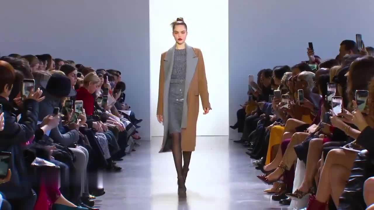 Badgley Mischka 2020-21秋冬纽约时装周