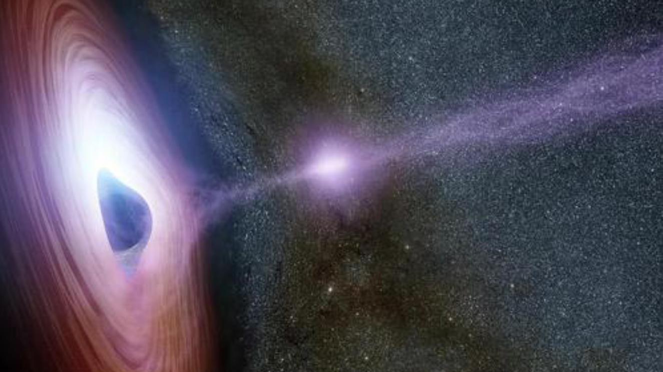 国外科学家亲眼目睹,一颗恒星被黑洞撕成碎片,场面很壮观且奇妙