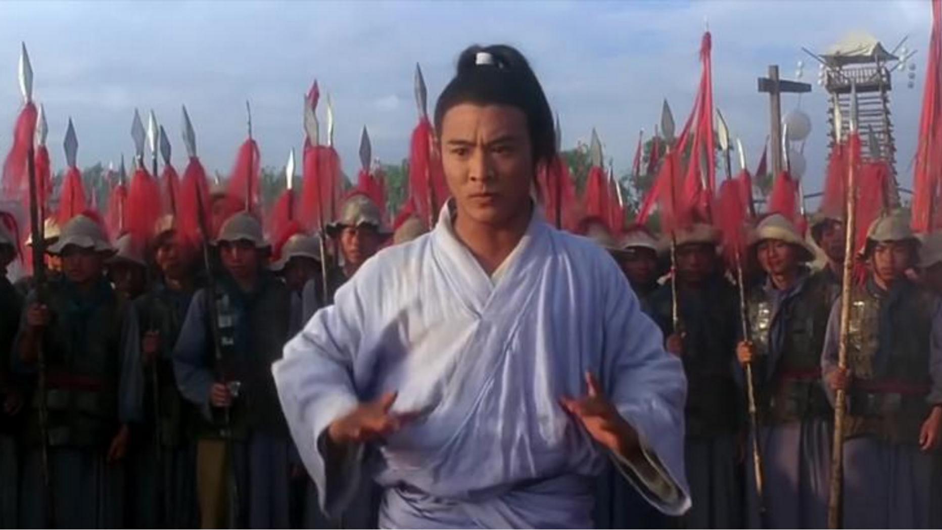 李连杰成名作之一,集少林武当功夫于一身,比甄子丹打十个强百倍