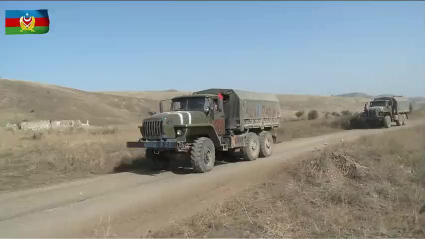阿军队攻下亚美尼亚一个军事基地,缴获大量战利品苏联老货为主