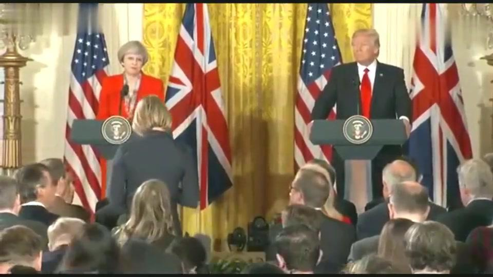 BBC记者提出一连串尖锐问题,特朗普:这是在破坏英美关系