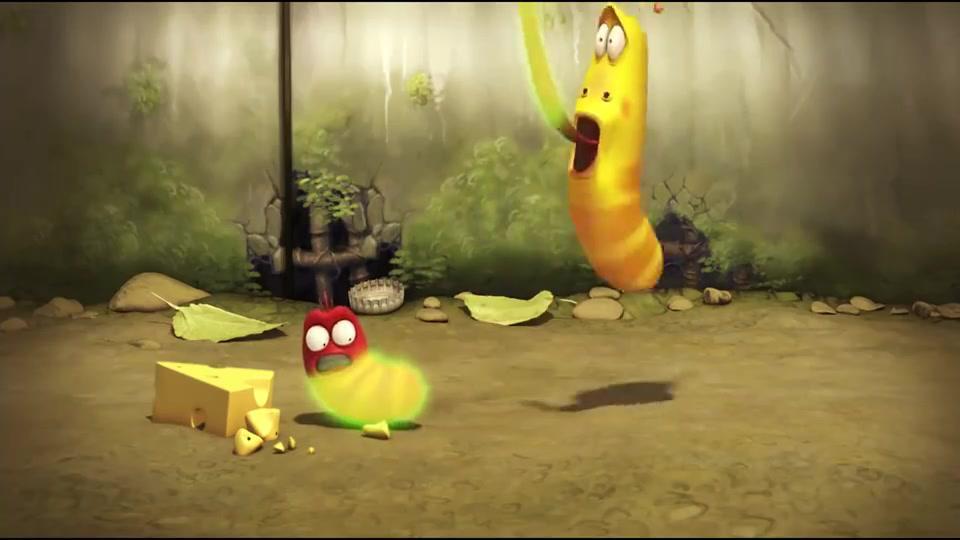 爆笑虫子:俩虫子得到神器的力量,小黄小红吊打独角仙和青蛙