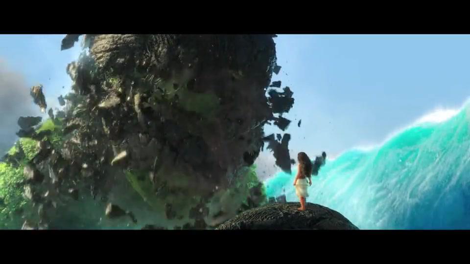 恶卡就是女神,莫阿娜最终拯救了部落拯救的了大自然