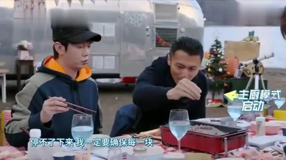 周游记:周杰伦吃烤肉吃到嗨,和老杜互飙演技,谢霆锋乐坏了!