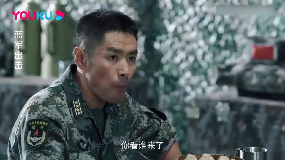 蓝军出击:老首长来看王可争,还带来一辆坦克,王可争一看乐了!