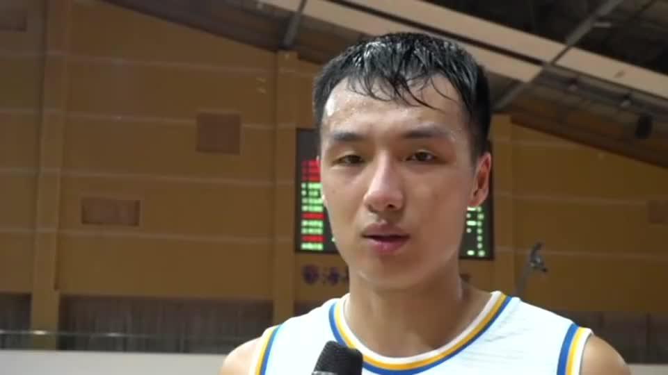 郑祺龙打破CBA选秀球员首秀得分纪录:可能我运气比较好