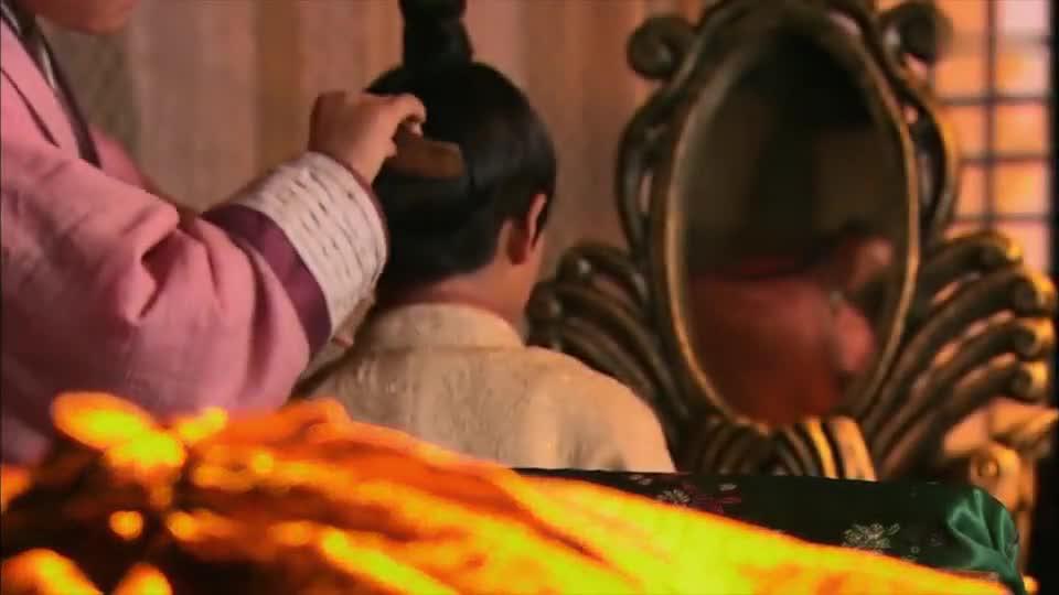 美人心计:林心如找到太子,太子愿意上朝自己面对,小男子汉