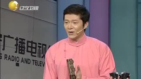 德云社谢金表演谢派单弦《游春园》,台下掌声不断
