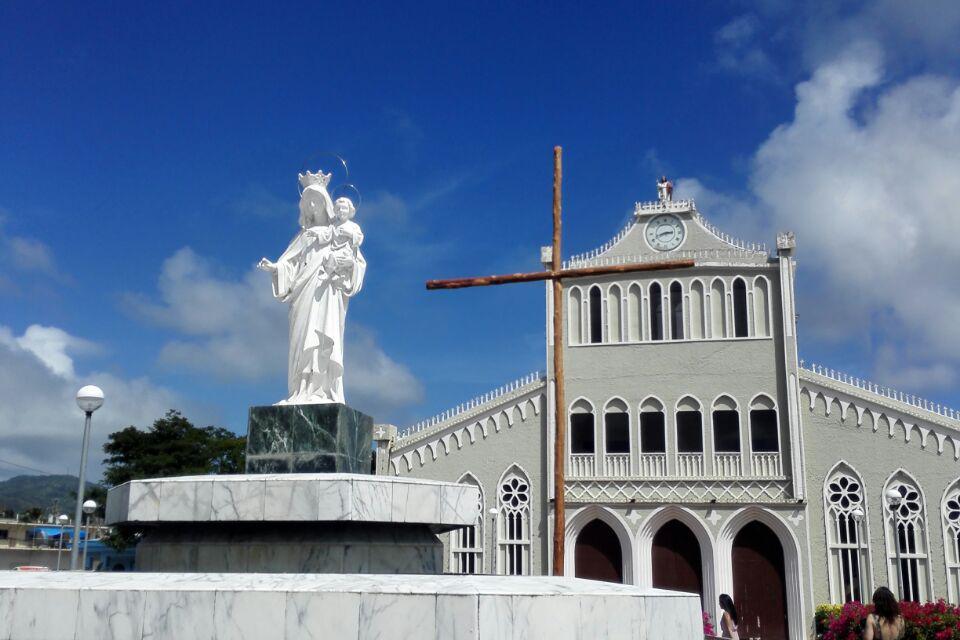 游览 大洋洲 北马里亚纳群岛 塞班岛 卡梅尔山天主教大教堂