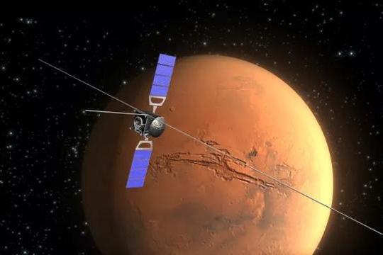 """火星南极或藏有4个""""湖泊"""",人类移居太空希望更大了?"""