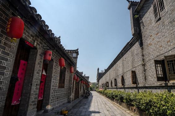 """安徽最""""形象""""的古街 南北360米、东西240米 是典型的""""丁""""字形"""