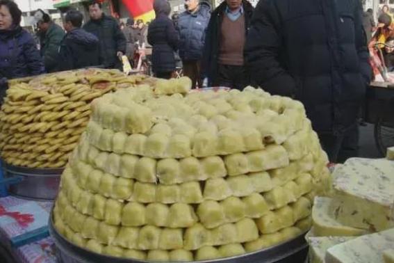 北方冬天才有的粘豆包, 很多人都不认识