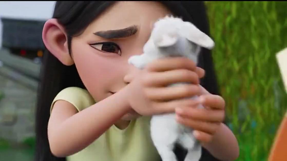 飞奔去月球:可爱还会超能力的兔子你见过吗?真的太治愈了!