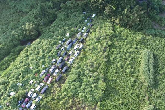 日本福岛核泄漏4年后的场景:变成鬼城,图5受污染的大米堆积如山