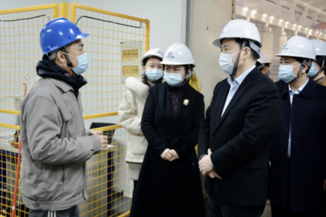 争当智造名城主引擎,常州市长调研江苏嘉轩科技创新发展